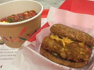 Mencicip Burger dan <i>Korean Rice Bowl</i> Sehat di MAM