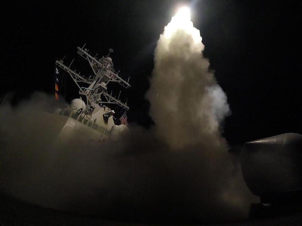 Tomahawk hingga Storm Shadow yang Bombardir Suriah