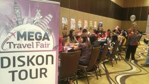Mega Travel Fair Semarang Resmi Dibuka, Saatnya Berburu Tiket Murah!