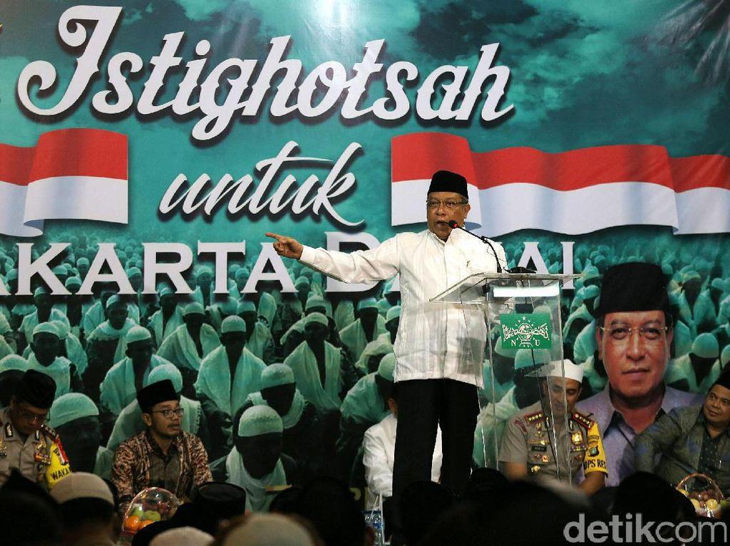 PBNU Gelar Istigasah untuk Jakarta Damai