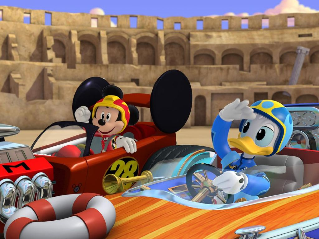 Cerita di Balik Mickey Mouse and the Roadster Racers