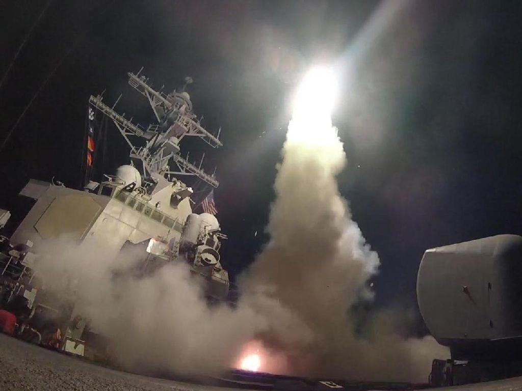 Begini Kekuatan Tomahawk Hingga Storm Shadow yang Serang Suriah