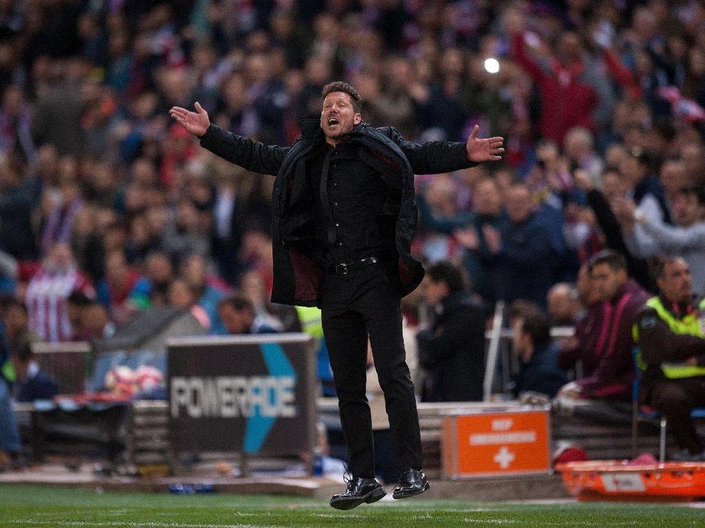 Sindir Fans Atletico, Simeone: Kalian Seperti Suporter Madrid