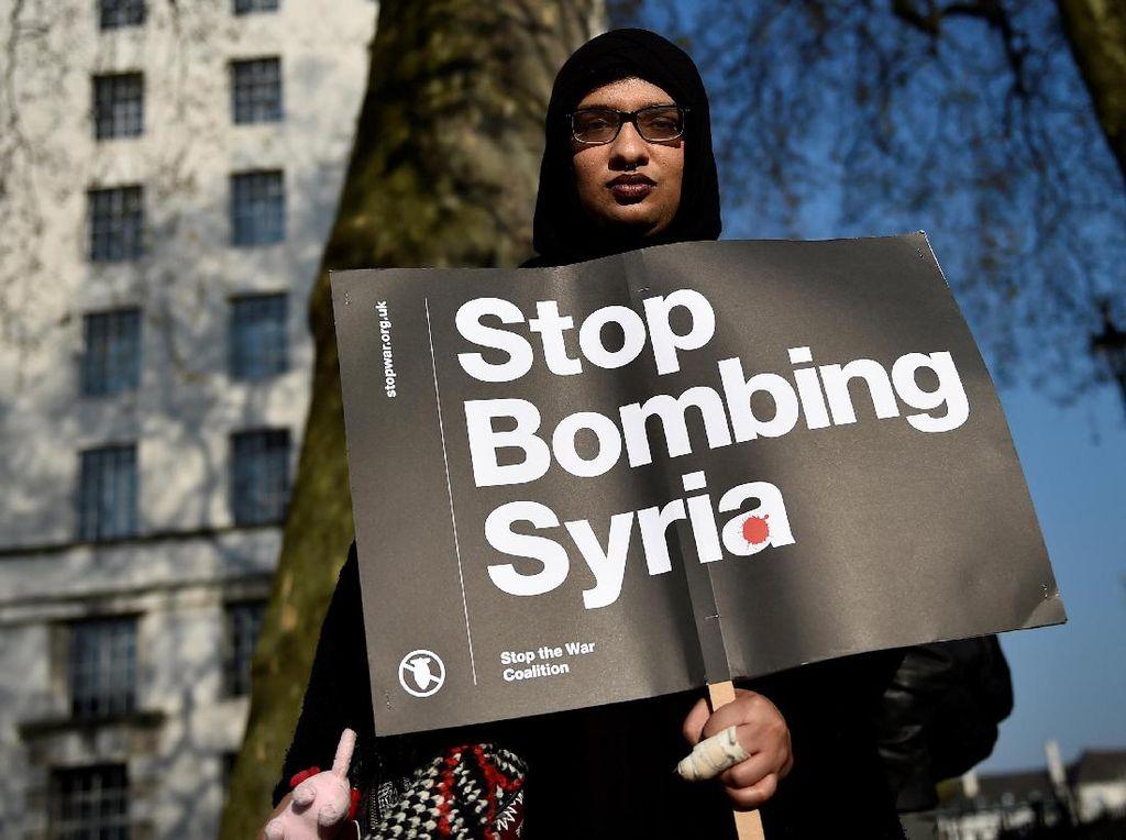 Aksi Menolak Perang Suriah