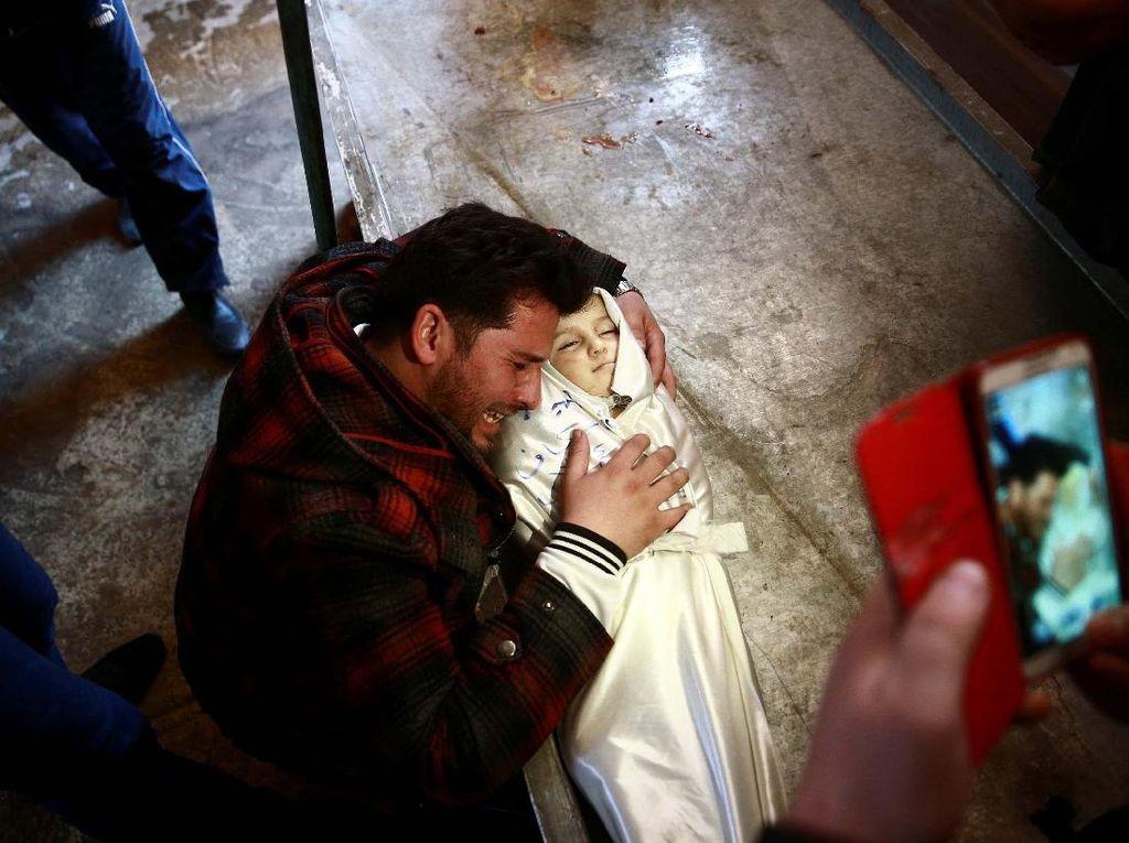 Amira Skaff, Bayi Mungil Korban Perang Suriah