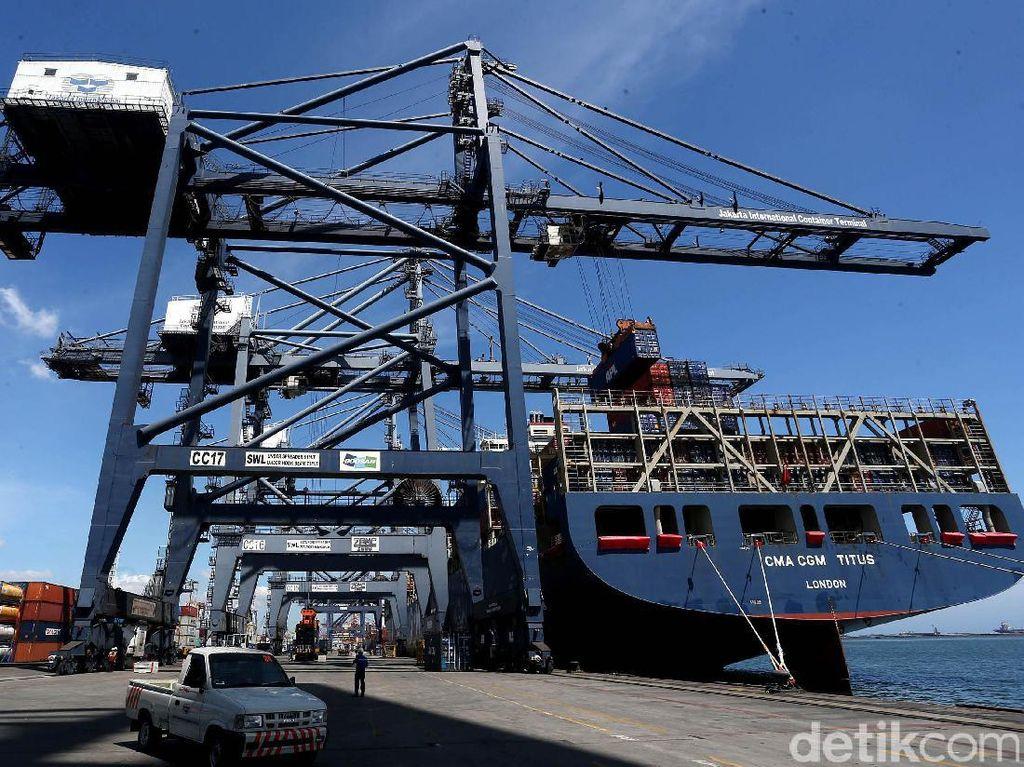 Tak Perlu Lewat Singapura, Kapal Raksasa Bisa Langsung Bersandar di RI