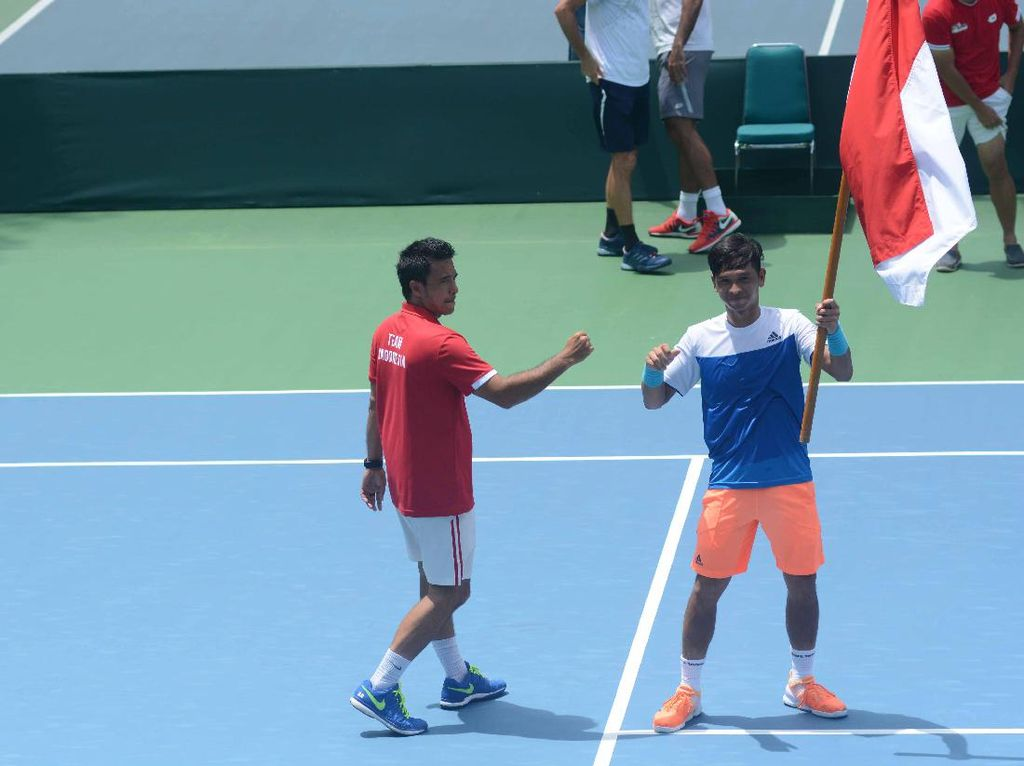 Christo dan Anthony Menang, Indonesia Kalahkan Kuwait 4-1