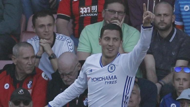 Hazard di Ambang Musim Tersuburnya di Premier League