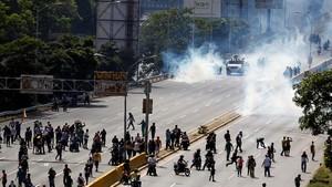 Demonstran Ditembak Mati, Total 76 Tewas dalam Krisis Venezuela