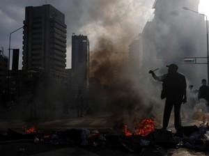 Total 20 Orang Tewas Saat Demonstrasi Antipemerintah Venezuela