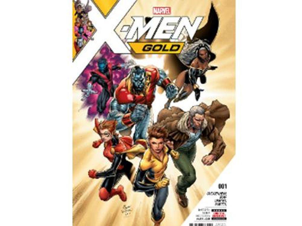Jadi Kontroversi, Komik X-Men Gold #1 Laris Manis?