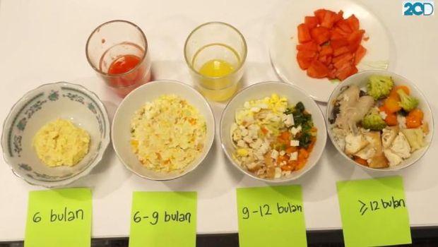 Resepi Makanan Bayi 9 Bulan Penambah Berat Badan