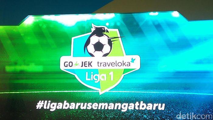 Logo Liga 1 (Foto: Amalia Dwi Septi)