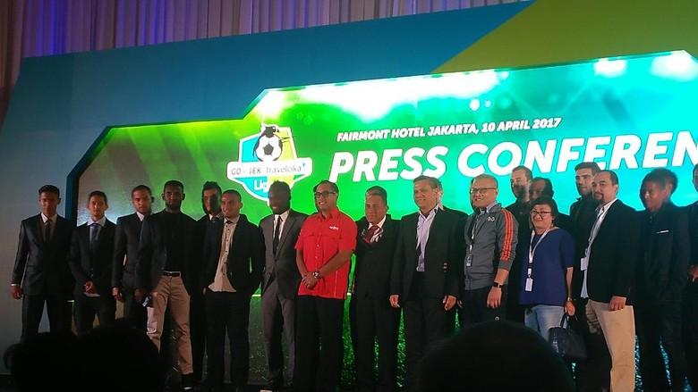 Gojek Traveloka Liga 1 Resmi Diluncurkan