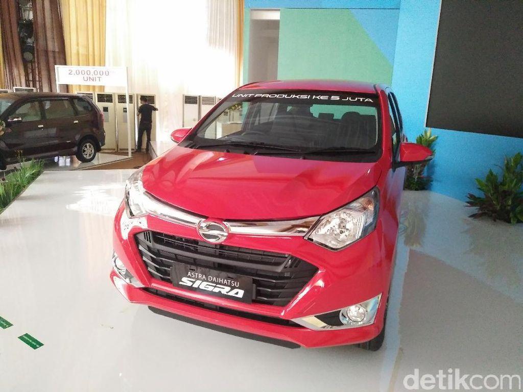 Daihatsu Produksi 5 Juta Mobil di RI, Cetak Rekor MURI