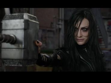 Intimidasi Cate Blanchett Si Villain pada Chris Hemsworth di Thor: Ragnarok