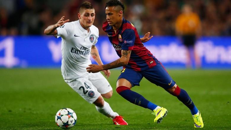 Verratti Mau Neymar di PSG