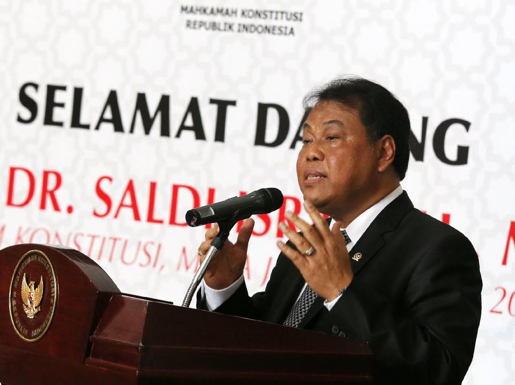 Calon Hakim MK Arief Hidayat Pamer Prestasi Tuntaskan Perkara