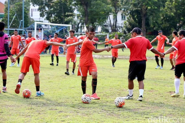 Jelang Liga 1, Persija Fokus Berlatih Fisik