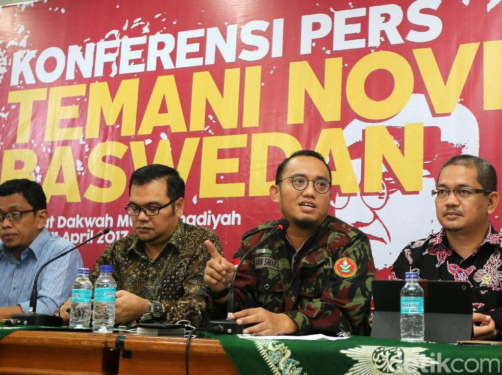 Muhammadiyah Kecam Teror Air Keras ke Novel