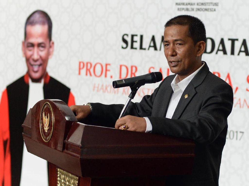 Dipilih Jokowi, Saldi Tegaskan Tak Ada Pesan Khusus dari Presiden