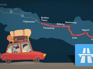 Mudik Lewat Tol Brebes-Semarang, Ini Pintu Keluarnya
