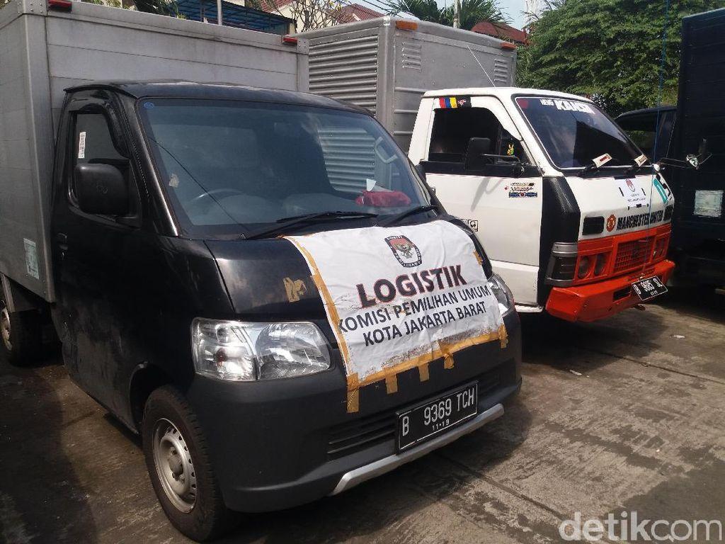 KPU Jakarta Barat Distribusikan Surat Suara Hari Ini