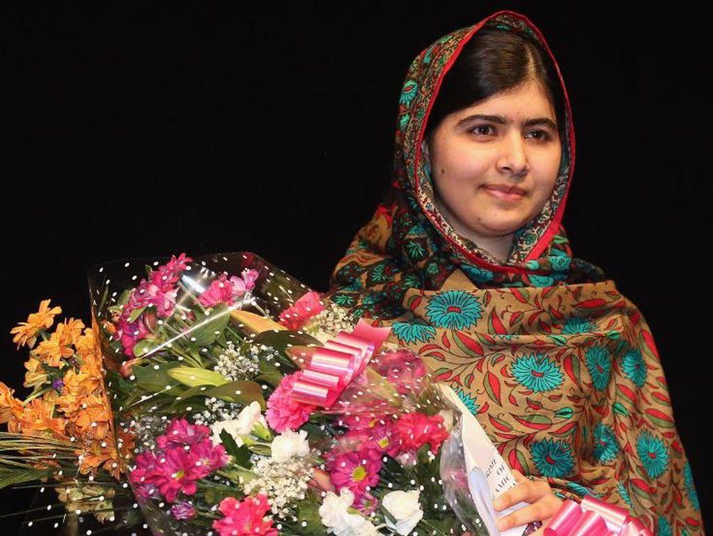 6 Tahun Setelah Ditembak Taliban, Malala Kembali ke Pakistan