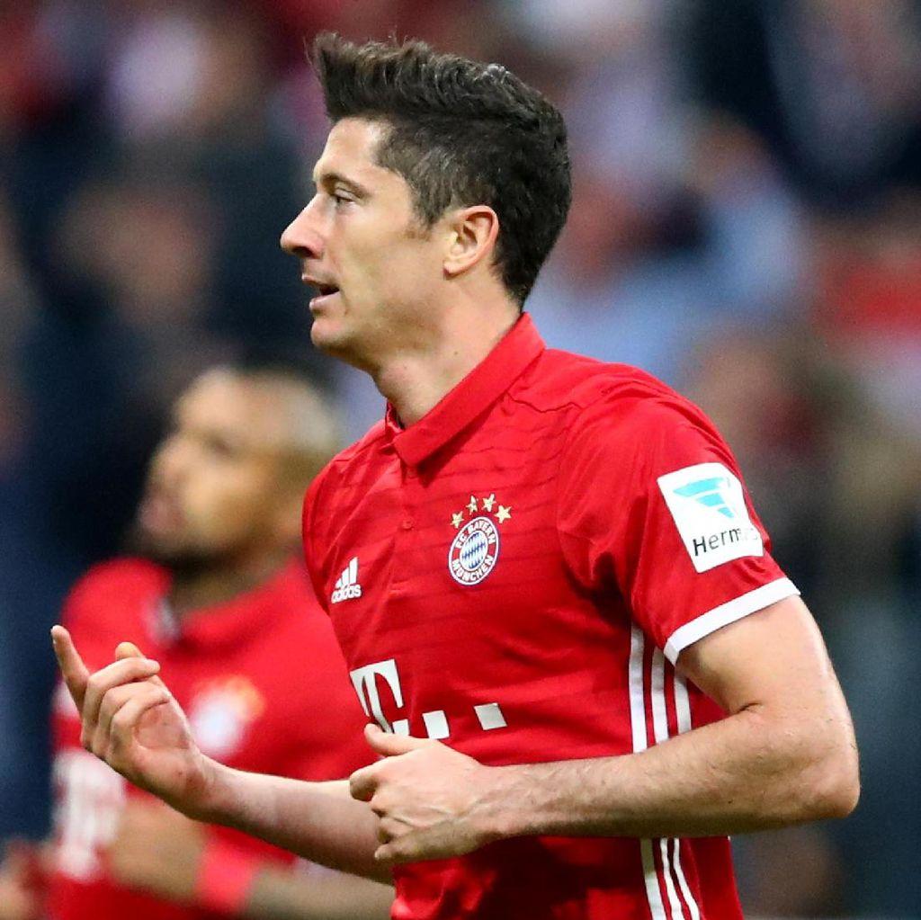 Agen: Bayern Masih Klub Terbaik untuk Lewandowski
