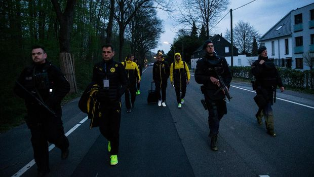 Kepolisian Sebut Serangan Memang Ditargetkan ke Bus Dortmund