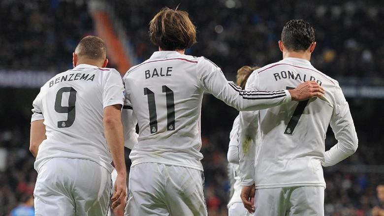 Momen Penting Zidane: 14 Hari bersama Trio BBC