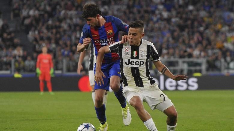 Dybala Dua Gol, Juventus Hajar Barcelona 3-0