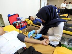 PMI: Stok Darah di Surabaya Aman Selama Bulan Ramadan