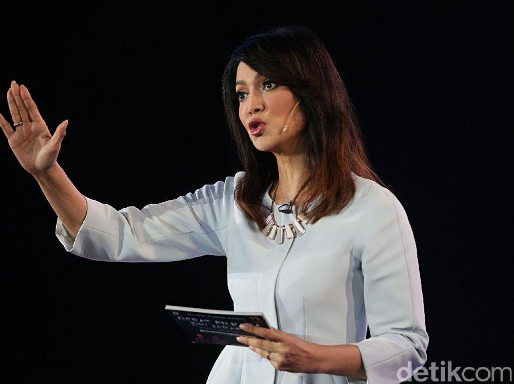 Foto: Gaya Formal Ira Koesno yang Akan Jadi Moderator Debat Capres 2019