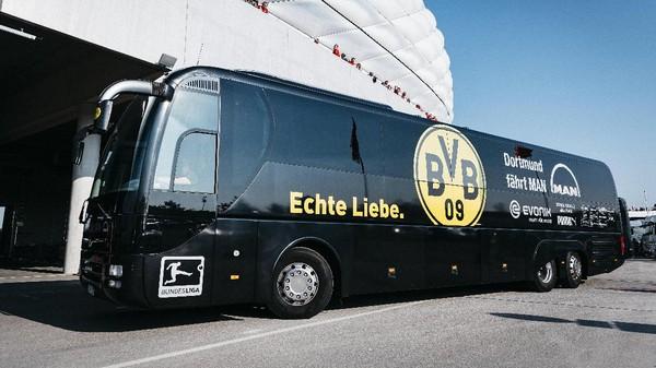 Jelang Laga, Bus Dortmund Dikabarkan Kena Ledakan