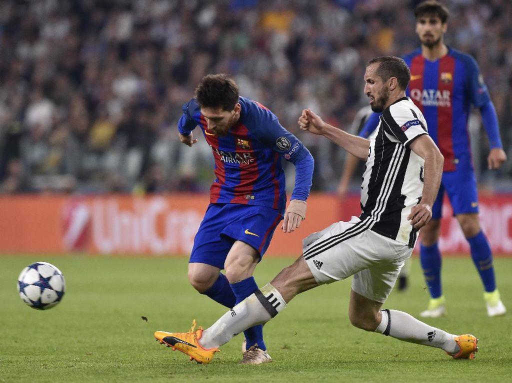 Juventus Akan Parkir Bus di Camp Nou