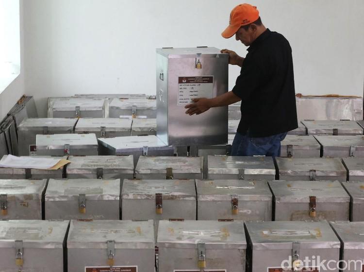 KPU Identifikasi Jumlah Kotak Suara Lama untuk Pemilu 2019