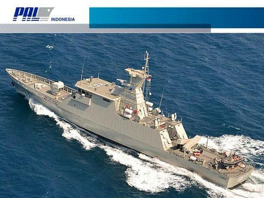 Malaysia hingga Senegal Kepincut Produk Kapal Perang RI