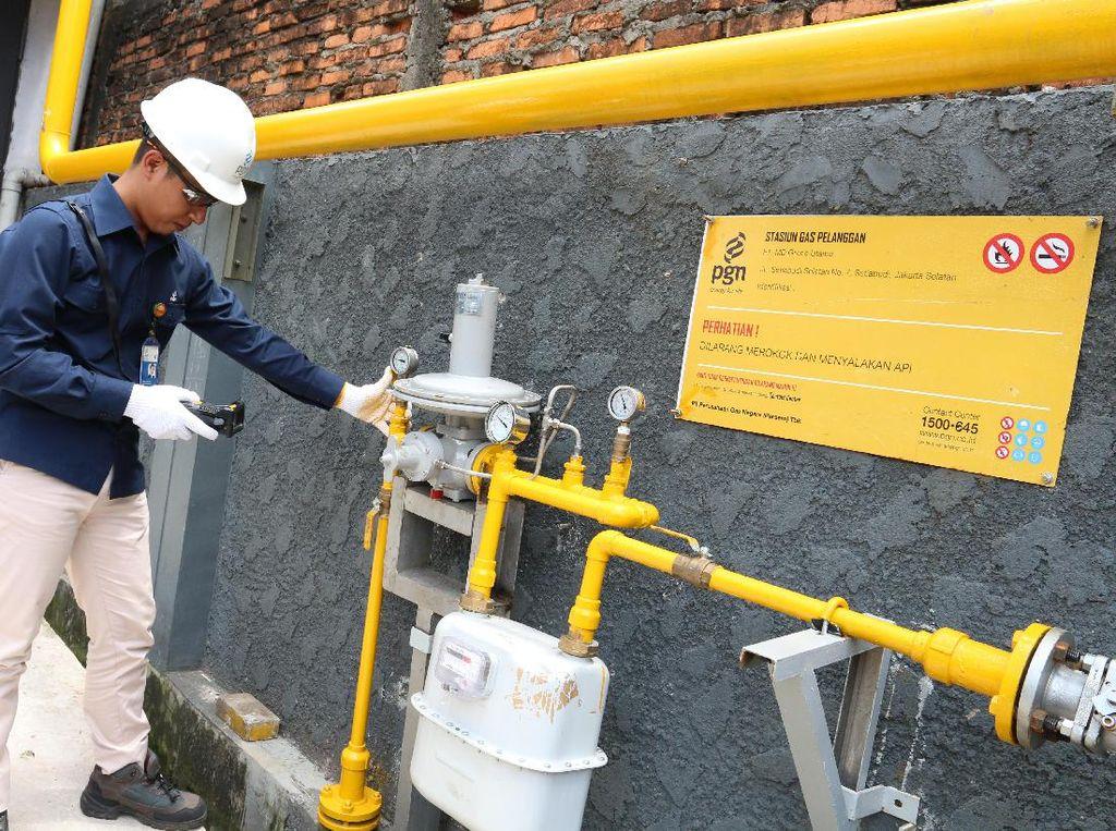 Industri Nasional Kian Minati Gas Bumi PGN