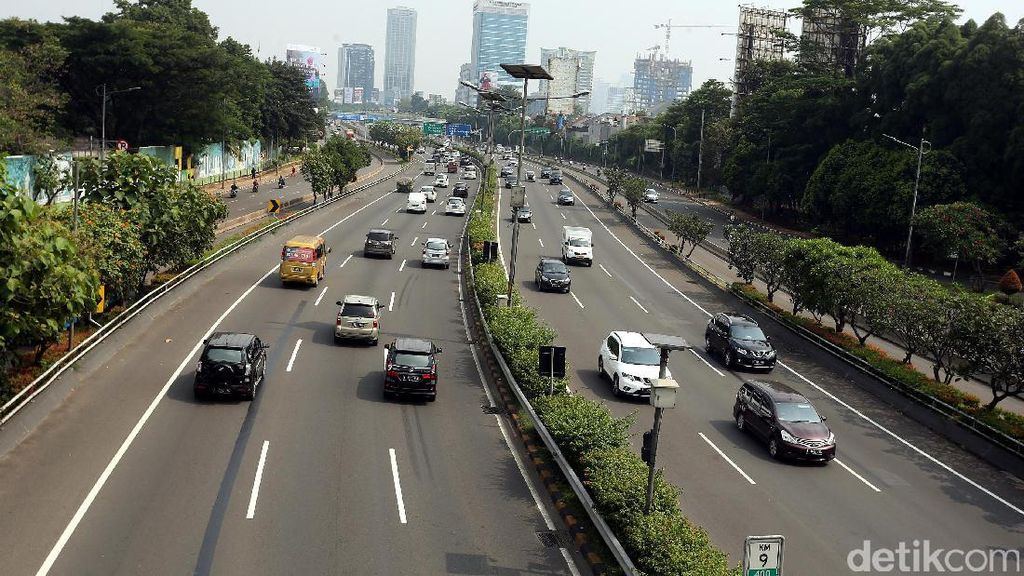 Jakarta Lengang Saat Libur Panjang