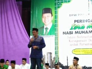 Hadiri Istigasah di Jakbar, Djarot Dapat Dukungan dari PPP DKI