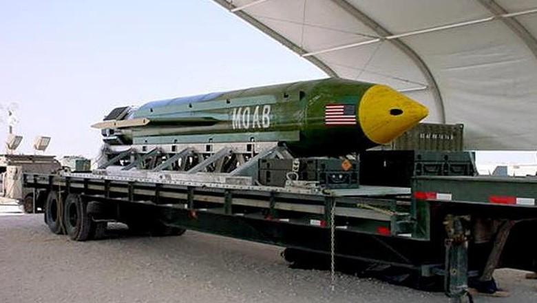 Induk Segala Bom AS Tewaskan 36 Simpatisan ISIS di Afghanistan
