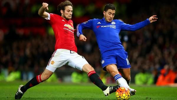 Duel MU vs Chelsea di Old Trafford