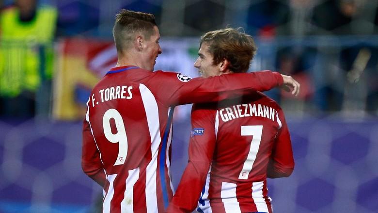 Torres pada Griezmann: Tak Ada Alasan Tinggalkan Atletico