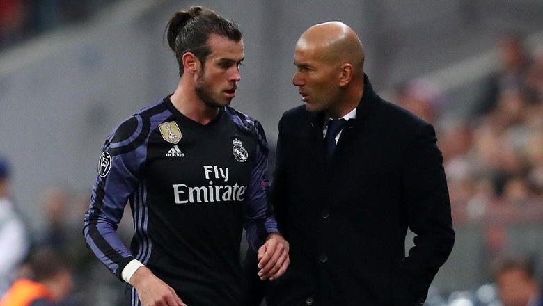 Zidane Khawatirkan Kondisi Bale