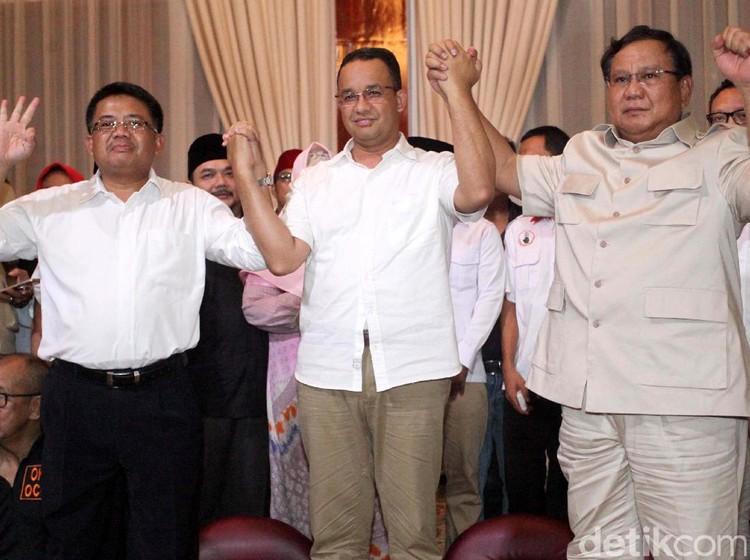 Anies hingga Amien Rais Hadiri Rakornas Gerindra di Rumah Prabowo
