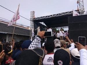 Datangi Kalijodo di Hari Terakhir Kampanye, Anies Orasi Antigusur