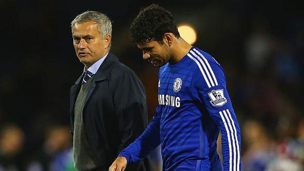 Sebelum Chelsea Dijamu MU, Diego Costa Sanjung Mourinho