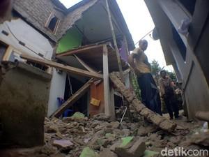 Gas 3 Kilogram Meledak di Sukabumi, Rumah Pedagang Asongan Hancur