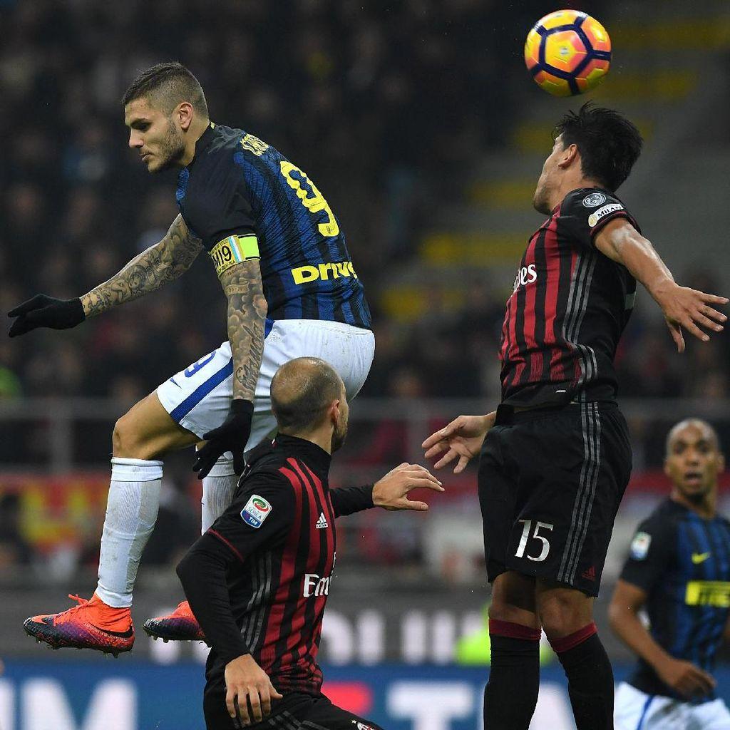 Data dan Fakta Jelang Duel Inter vs Milan